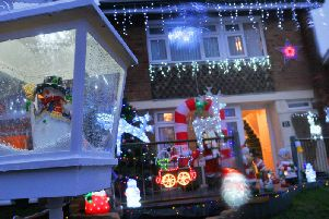 Do you have the most festive house in Calderdale?