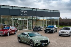 Bentley range