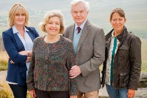 Cast member of Last Tango in Halifax. Picture: Ben Blackall/BBC
