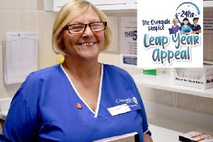 Overgate Hospice's Leap Year Appeal.
