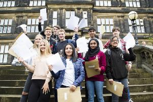 2019 results day at The Crossley Heath School.