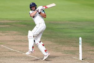Yorkshire's Tim Bresnan in action against Middlesex at Lord's Picture: David Davies/PA.