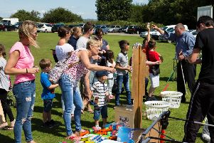 Rastrick Big Local Family Fun Day, at Rastrick Cricket Club.