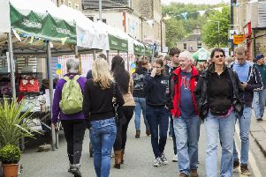 The markets are organised by the Brighouse Business Initiative
