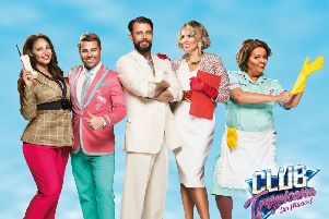 Blow away the winter blues at Club Tropicana