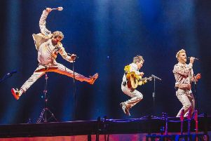 Take That live to Halifax cinema from Cardiff