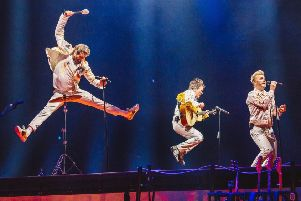 Greatest day as Take That beamed live to Halifax cinema