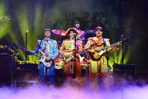 Come Together and experience the iconic music of The Beatles at The Alhambra Theatre, Bradford