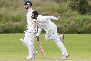 All-rounder Babar Malik is one of the players who came to Northowram as part of the merger with Shelf
