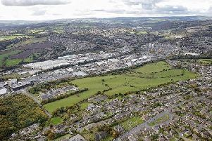 Land where the Clifton business park will be built