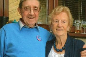 Eric Castle with his wife Margaret