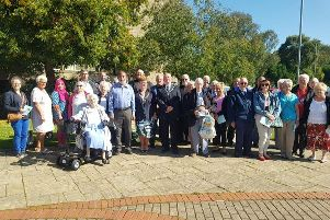 World Peace Day is observed in Burnley's Peace Garden