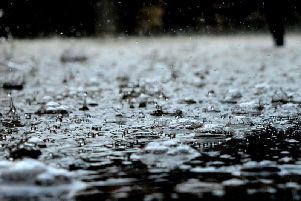 Yellow weather warning issued  for heavy rain for parts of Lancashire this weekend