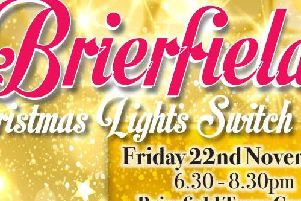 People across Pendle and Burnley are invited to the Christmas lights switch-on
