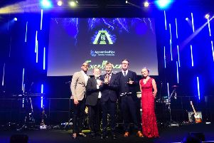 Michal at the National Apprenticeship Awards