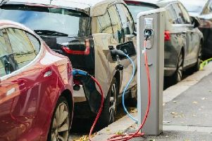 There will be 150 charging points at the roadside across Lancashire