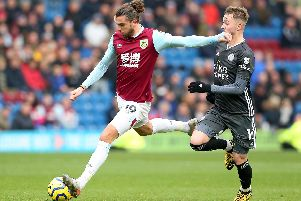 Jay Rodriguez goes for goal