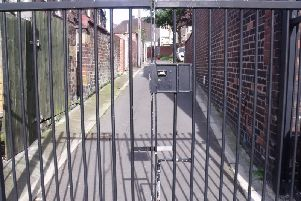 The streets will only be accessed via locked gates with residents having a key