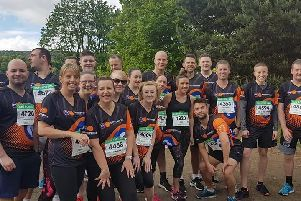 Motorpoint staff are all geared up to take part in the Burnley 10k Race
