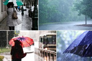 The extended heatwave is set to see a dip in temperatures this week, with heavy rain and wind expected in Lancashire