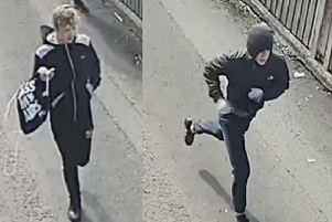 Two of the three men police would like to speak to (Photo: Lancashire Police)