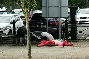 Shocking footage shows 'Zombie' spice addicts on streets of Lancashire