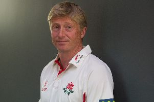 Lancs' head coach Glen Chapple