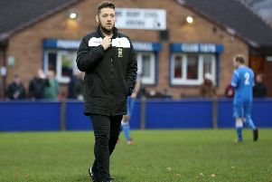 Joint Storks manager Liam Smith