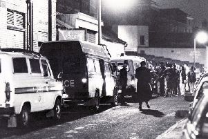 An acid house party like this was one raided at Walton Summit industrial estate, near Preston