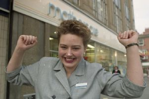 Kate Fielding, 17, was crowned Mothercare Youth Trainee of the Year