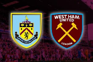 Burnley v West Ham United