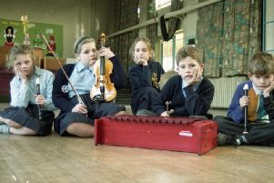 These music students look pretty unhappy - but does anyone know why?