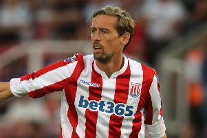 Peter Crouch has moved from Stoke to Burnley (photo: Getty Images)