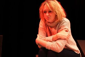 Sophie Milne playing 15-year-old Liv, a victim of child sexual exploitation, in a play funded by Lancashire Constabulary. (s)