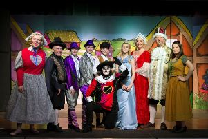 The cast of Puss in Boots, which will be performed next week at Sion Baptist Church. (s)