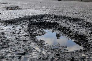 There were almost 50,000 potholes reported in Lancashire in 2017/18