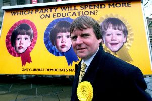 Liberal Democrats leader Bill Chadwick who claims more Labour councillors may defect