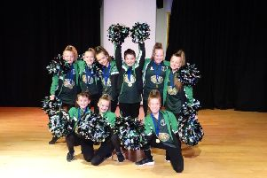 Dancers from Padiham Green Primary School were victorious in a competition held exclusively for schools in Burnley and Padiham.