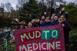 Idle Women is asking the public to watch the film about their Mud to Medicine project onITV Granada New and then vote online for them to win 50,000 of National Lottery funding. (s)