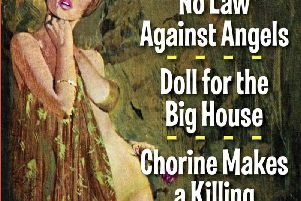 No Law Against Angels, Doll for a Big House, and Chorine Makes a Killing by Carter Brown
