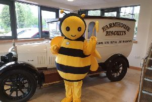 Farmhouse Biscuits, Nelson, has donated sweet treats to a Buzzing Bee Day at Ightenhill Park next weekend. (s)