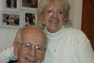 Brierfield couple Herbert and Olive Hall are marking their 70th wedding anniversary today. (s)