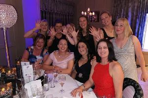 Burnley and Pendle people wore their best frocks at the glamorous Fence Charity Ball. (s)