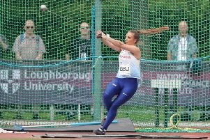 Hammer star Charlotte in GB squad for biggest throws event in the world in Halle