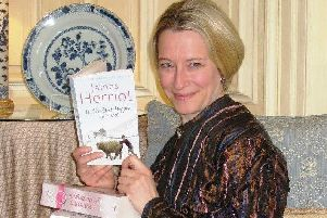 Historian Lucy Adlington, of History Wardrobe, will bring the past to life when she presents All Writers Great and Smallon Thursday at 7pm at Gawthorpe Hall.