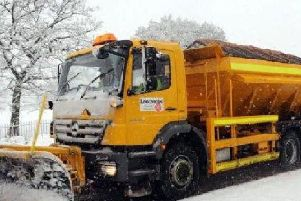 Gritters were sent out at colder temperatures last winter