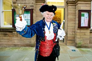 Tony Bennett in his days as Nelson Town Crier
