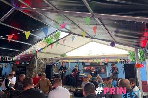 Prinfest was held at the Royal Dyche pub in Yorkshire Street