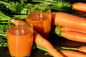Carrots can help with better vision