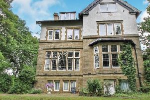 The eight-bed detached house on the market for 475,000 with Bridgfords.
